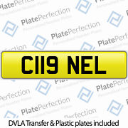 C119 Nel Very Rare Cherished Private Number Plate Dvla Registration