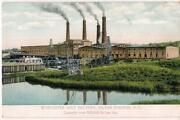 Worcester Salt Factory Capacity 500,000+/day Silver Springs Ny Order Postcard