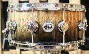 Dw Collectorand039s Exotic Candy Black Fade 6.5x14 Snare - So1157757