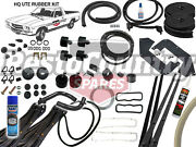 Holden Ute Complete Body Rubber Kit Hq Chamois Pinch Door Weather Seal Bailey Ve