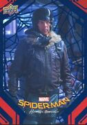 Spiderman Homecoming Blue Foil [99] Base Card 28 Toomes Unmasked