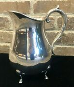 Reed And Barton Sterling Silver Water Pitcher - No Monogram