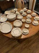 Johnson Brother's Eastbourne Old English Collection Vintage Fine China Set.
