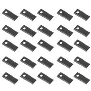 A76n945 25 Left Hand Blades For Kuhn Disc Mower Models Fc250 Fc300 Fc350 Gmd700