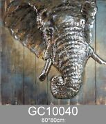Fashionable 3d Animal Wall Art Painting Special Home Use Galvanized Metal Wall H