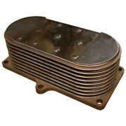 Re59298 Oil Cooler With Gaskets Fits John Deere Fits Jd 6210 6215 6310 6405 6415