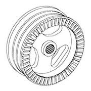 191461c1 New Separator Drive Pulley Made Fits Case-ih Tractor Models 1420 1440 +