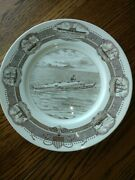 Uss Enterise Submarine Collector Plate 1960 Limited Edition Made In England