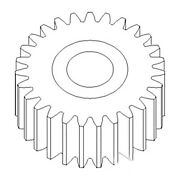 381509r1 New Pto Idler Gear Fits Case-ih Tractor Models 1026 1066 1086 +