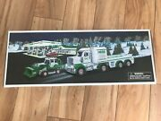 2013 Hess Toy Truck And Tractor - Mint In Boxcollectors Edition