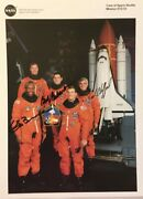 Shuttle Sts-53 Crew Photograph Signed By G.bluford, B.cabana, R.clifford