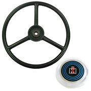 385734r1 Steering Wheel With Cap Fits Case Ih Fits Cub Cadet 100 102 122 123