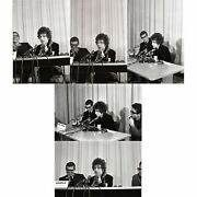 Bob Dylan 1965 Los Angeles Press Conference Negatives With Copyright Usa