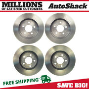Front And Rear Disc Brake Rotors Set Of 4 For Mercury Mountaineer Ford Explorer V8