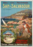 French Travel San Salvadour Near Hyeres South Of France Plm Source Minerale 1900