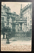 1900 Bonn Germany Rppc Postcard Cover To Canadian Government In Paris France