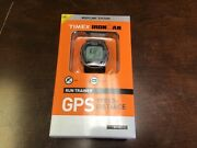Timex T5k549 Ironman Run Trainer With Gps-technologie New