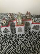 6 Liberty Falls Americana Collection Buildings 1992-94 All Brand New In Box