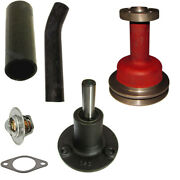 New Water Pump W/ Pulley Fits Massey Ferguson To35 Mf35 135