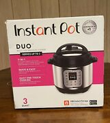 Instant Pot Duo Mini 7 In 1 Electric Pressure Cooker Slow Rice Cooker 3 Qt