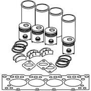 Diesel Engine Overhaul Kit Fits Allis Chalmers 180 185 190 Xt 649