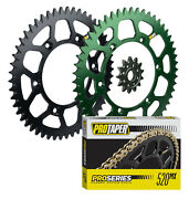 Pro Taper Sprockets And Pro Series Forged O-ring Chain Kit For Kawasaki Kx450f