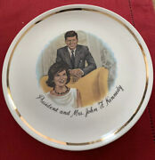 Vintage President And Mrs. John F. Kennedy Collectors Plate 9
