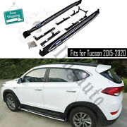 Fits For Hyundai Tucson 2015-2020 Side Step Nerf Bars Running Board Car Pedal