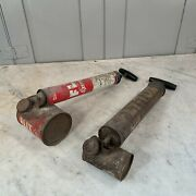 Couple Vintage Flit Sprayers Fly-tox And Esso