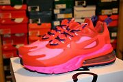 Authentic Nike Air Max 270 React Mystic Red Bright Crimson Pink Blast Women Size
