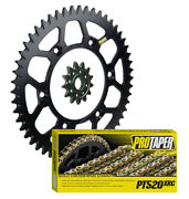 Pro Taper Race Spec Sprockets And 520mx Chain Kit For Suzuki Drz400 And Rm250