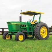 Tractor Canopy And Certified Rops - Metal Compatible With John Deere 4020 3020