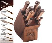 New Case Xx Usa Made 9 Piece Kitchen Cutlery Knife Set And Block 10249 Sale