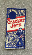 Original Vintage Cracker Jerk Wacky Packages Style Sew On Cloth Patch 3.75andrdquo