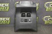 Nissan Titan Xd Center Console Rear Cover Trim Heated Seats Ac Switch Vents