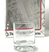 Glassware Set Of 4 Cocktail Etched Glasses Barware Collectibles