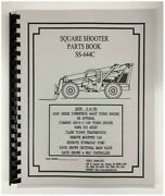 Terex Ss-644c Extendo Boom Square Shooter Forklift Parts Manual