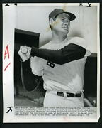 Ted Williams Works Out At Fenway Park 1959 Press Photo Boston Red Sox
