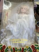 Vintage Collectorand039s Choice Limited Edition 16 Porcelain Doll In Victorian Dress