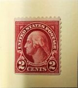 George Washington Stamp Mint Colour Carmine.not Sure From Scott Number