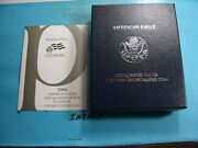 2006 W American Eagle Platinum Uncirculated 1/4 Oz Box Only With Papers