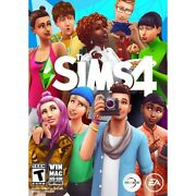 Sims 4 Pc,mac 1 Expansion Pack, 1 Game Pack, 3 Stuff Packs Plus Sims 4