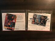 Star Wars Galaxy Topps Universal Monsters Promo Cards Sealed