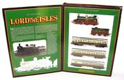 Hornby Oo Lord Of The Isles Gwr Steam Locomotive + 3 Passenger Coach Set Nmib