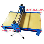 8755cm Art Ceramic Clay Plate Machine Slab Roller For Clay Adjustable