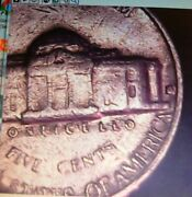 Error Coin 1964 D Nickle Has Comma After D And Cud Above God -- Raw Ungraded