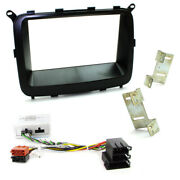 Kia Carens Double Din Fascia Panel Car Stereo Fitting Kit For Amplified Systems