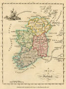 A Map Of Ireland. Antique Copperplate Map By Scalé / Sayer 1776 Old