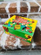 Vintage 1974 Topps Gum Berries Bubble Gum Display Box 8.75andrdquo Container Candy