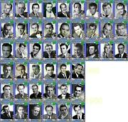 Actors Of The 1950s Movie Trading Cards Series 1 Presley Fonda Redgrave Marvin